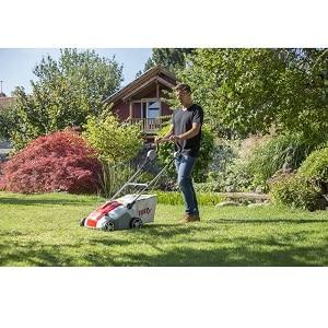 escarificar jardin equipo electrico